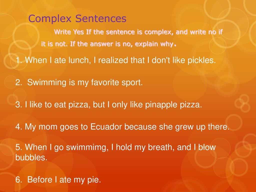Sentence Structure Practice! - ppt download