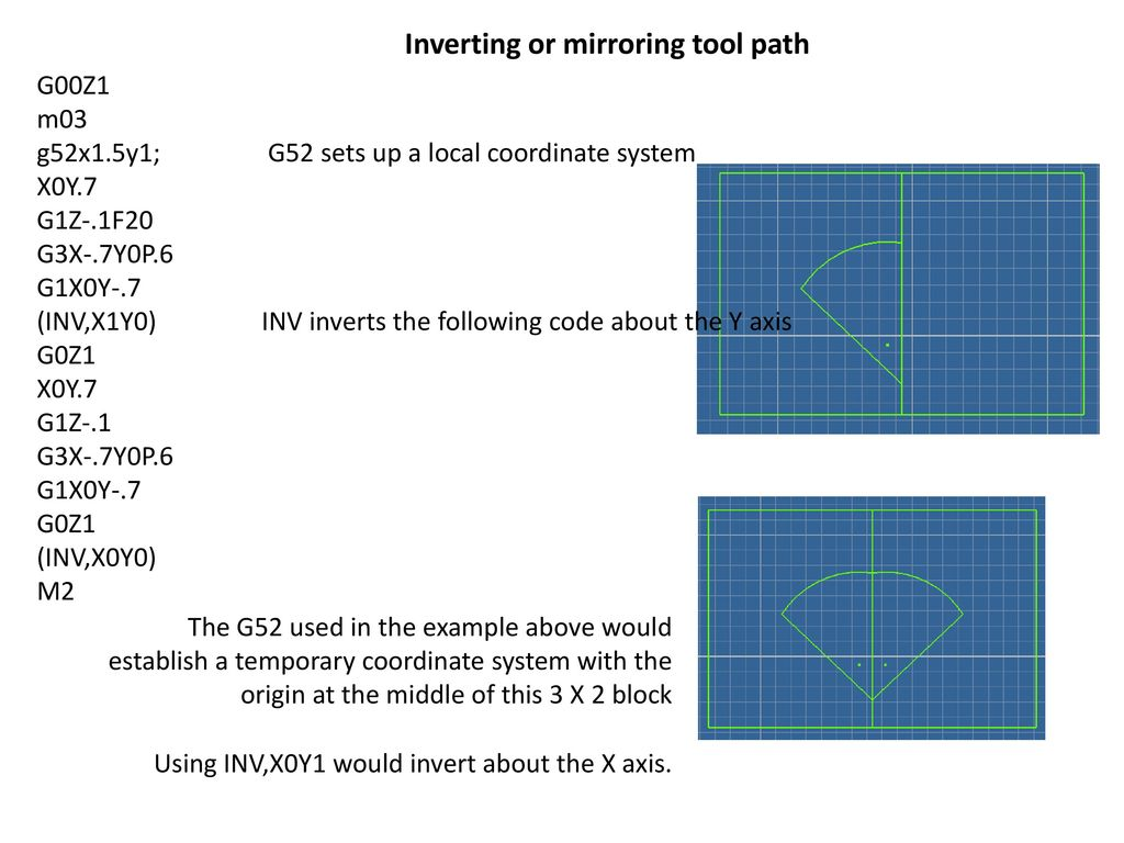 Some Additional G code Features - ppt download