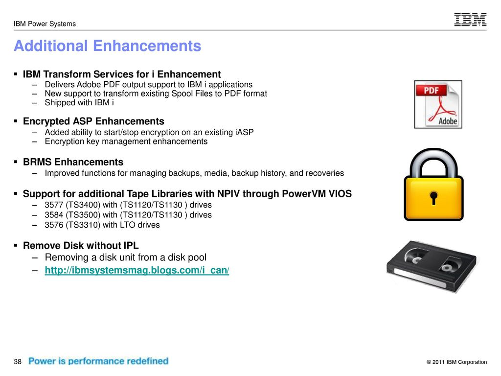 IBM i 7 1 Overview & Latest Features - ppt download