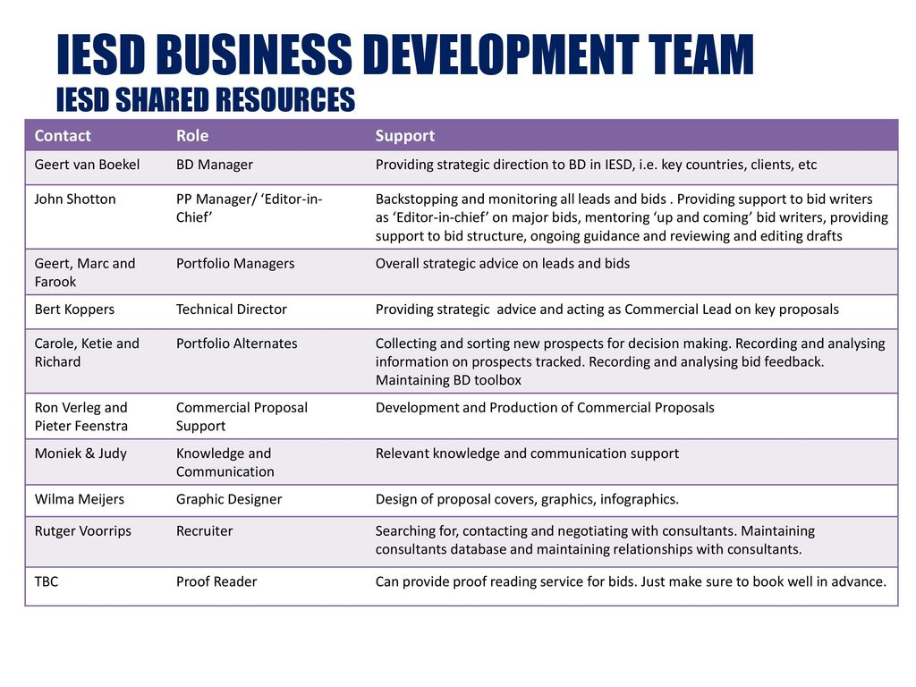 Bid Management An Iesd Guide April Ppt Download