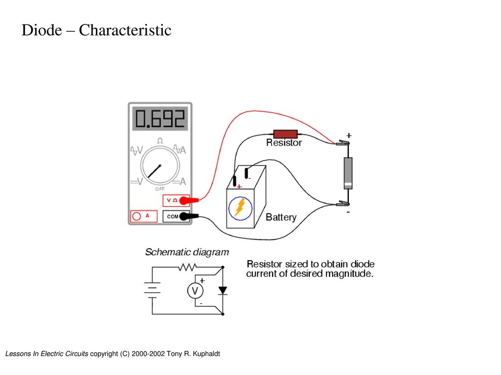 Diodes Introduction Textbook Cd Ppt Download Lessons In Electrical Circuit 29 Diode Characteristic
