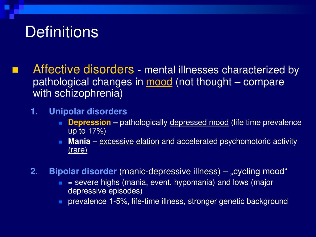 antidepressants  other drugs used in affective disorders - ppt
