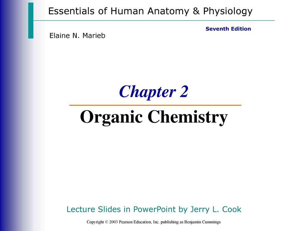 Nice Chemistry In Anatomy And Physiology Ensign - Anatomy and ...