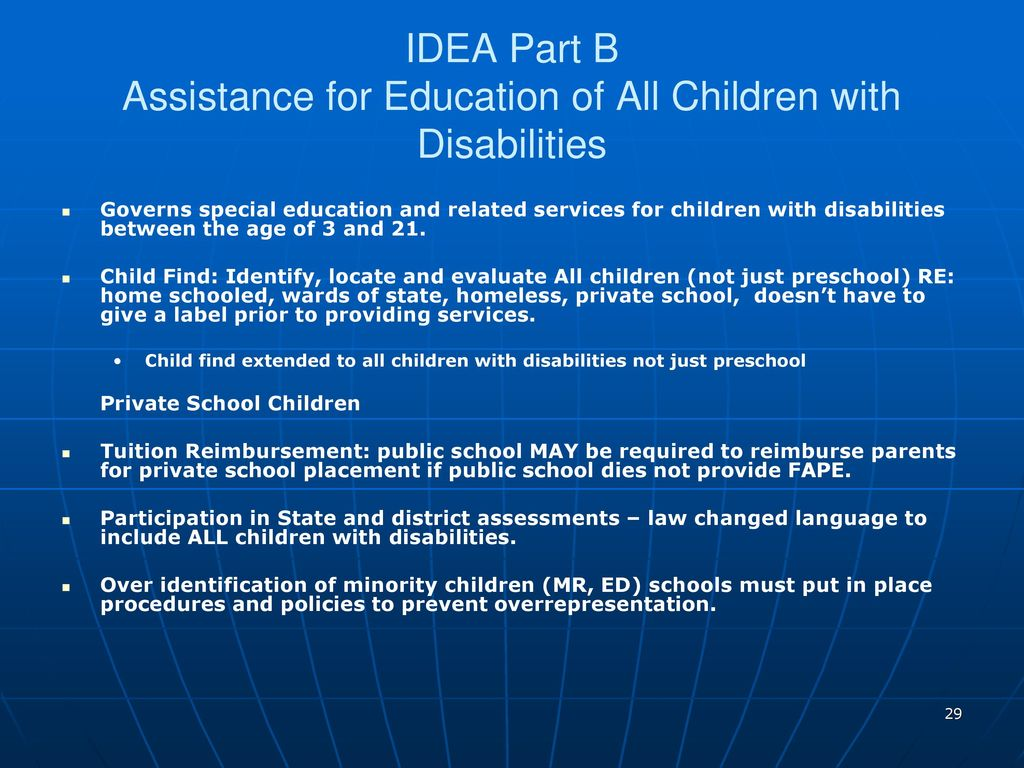 Special Ed Changes Likely In Final >> A History Of Special Education In America Ppt Download