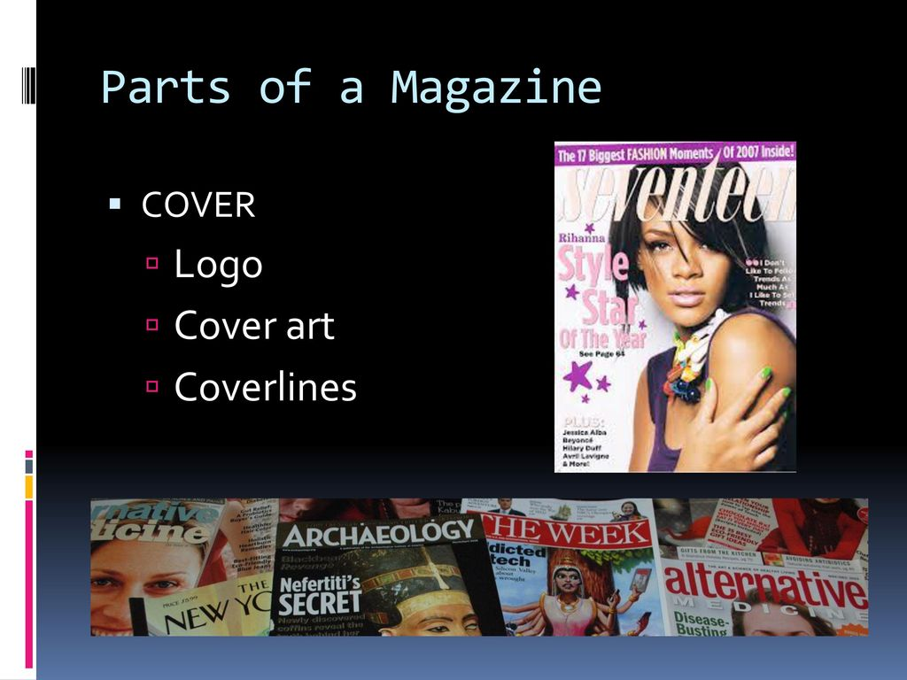 ANATOMY OF A MAGAZINE JOUR 500 The Contemporary Magazine - ppt download