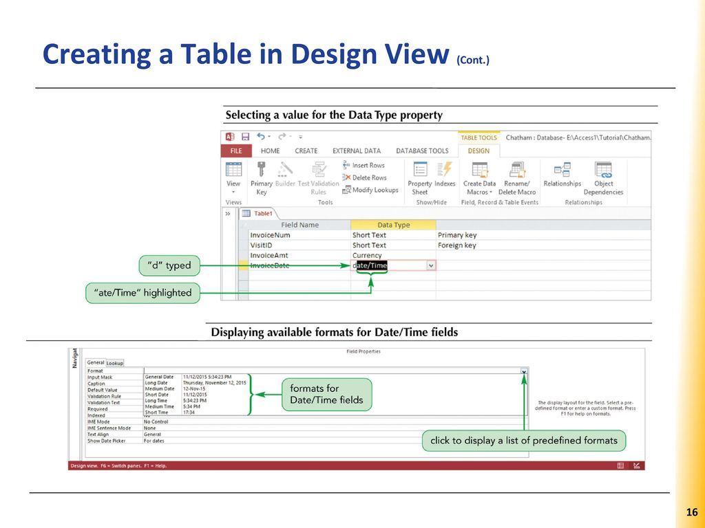 and Defining Table Relationships - ppt download