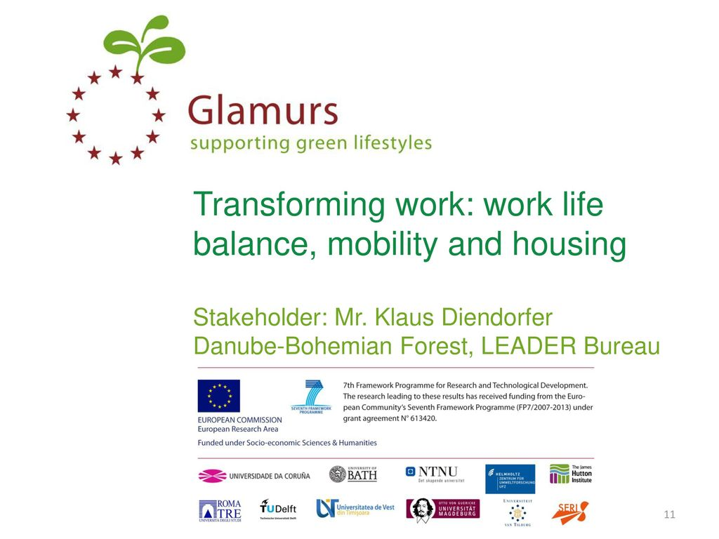 Transforming Work Work Life Balance Mobility And Housing