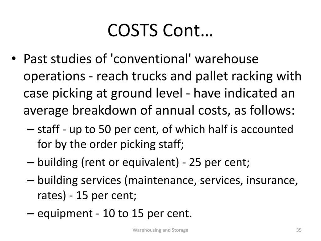 Procurement- Lecture 4 Principles of warehousing - ppt download