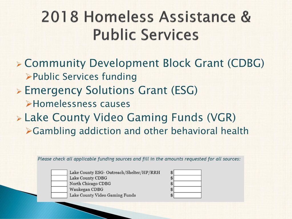 2018 Lake County Human Services Grant Application Workshop