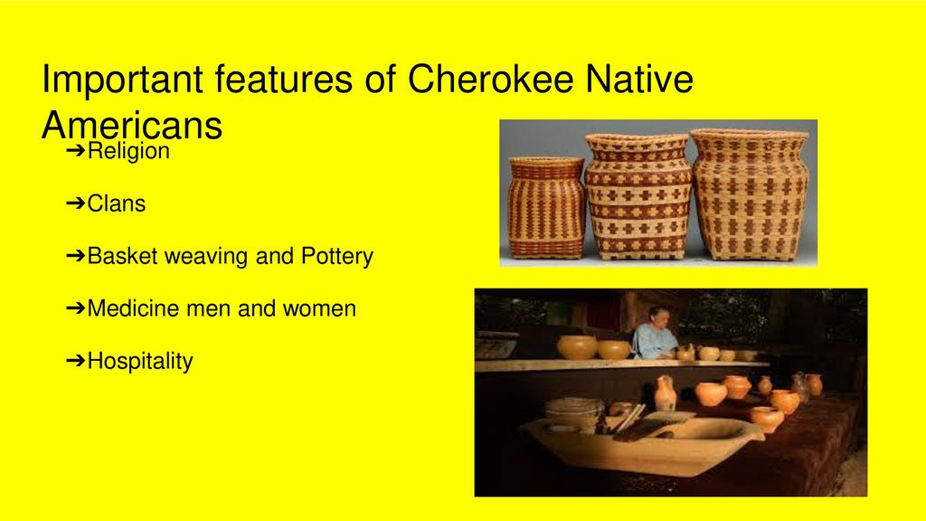 Native Americans-Cherokee Culture - ppt download