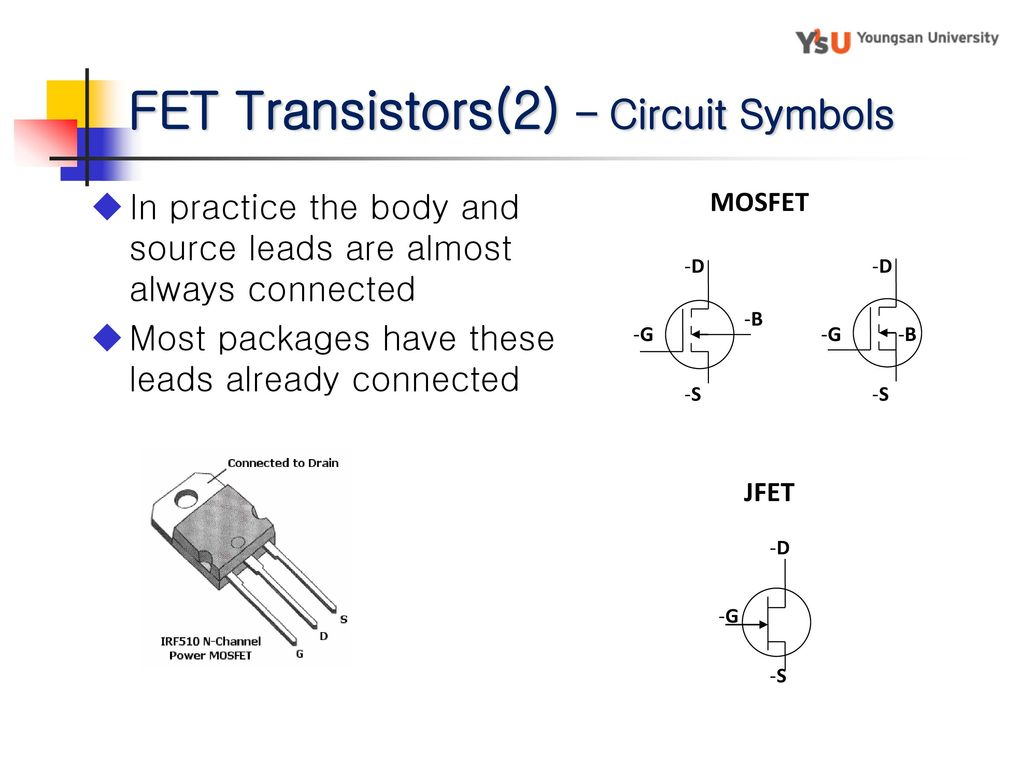 Electronic Circuit Ch 4 Bipolar Junction Transister Ppt Download Mosfet Test 16 Fet Transistors2 Symbols