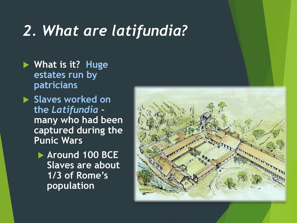 latifundia rome