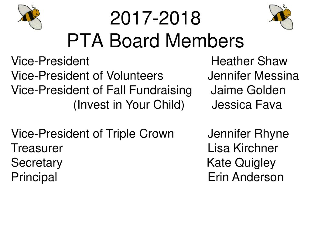 PTA General Assembly Meeting - ppt download