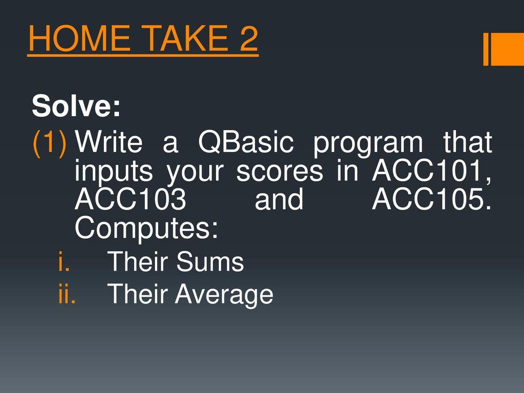 Qbasic Quiz Program