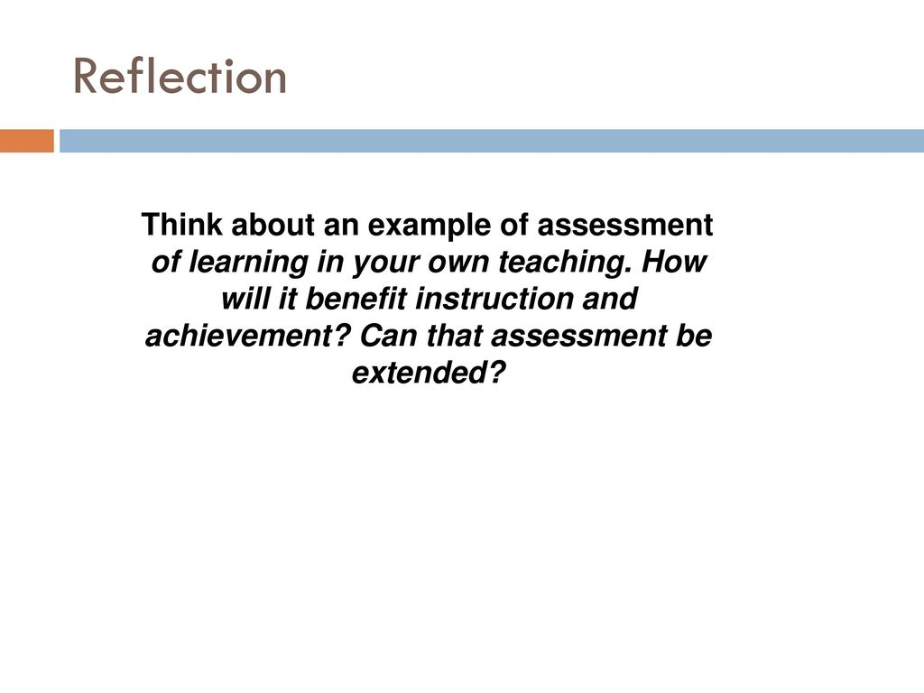 Assessment Of, For, and AS Learning - ppt download