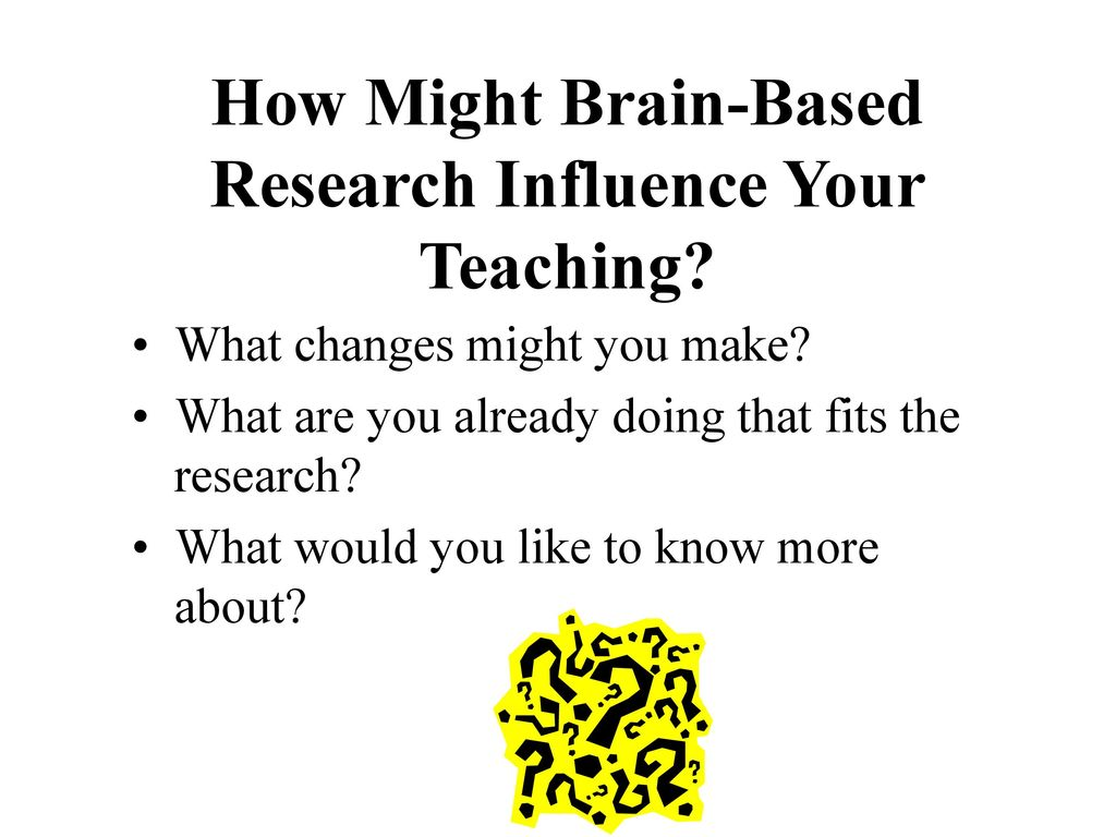 brain based research