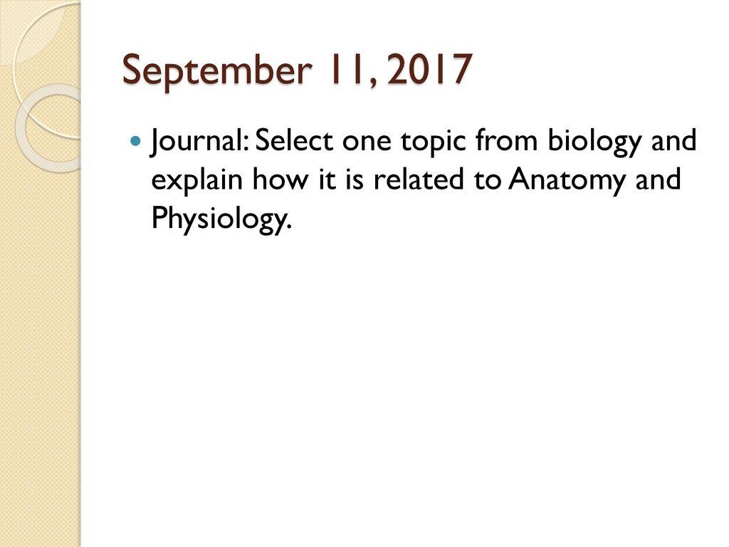 Großzügig Explain How Anatomy And Physiology Are Related Fotos ...