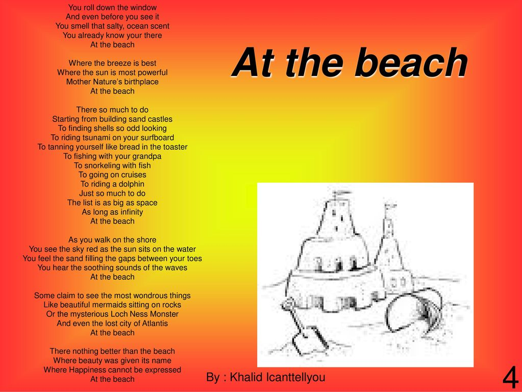 Beach Selected by Katlyn Ward  - ppt download