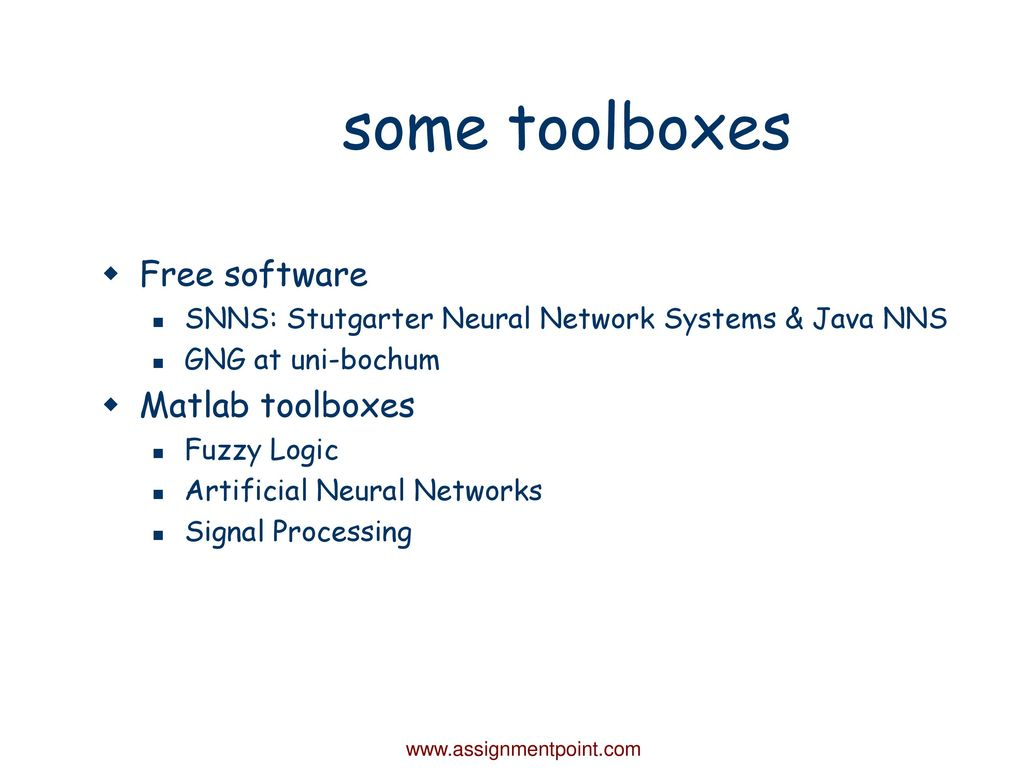 Lecture on Intelligent Signal Processing - ppt download