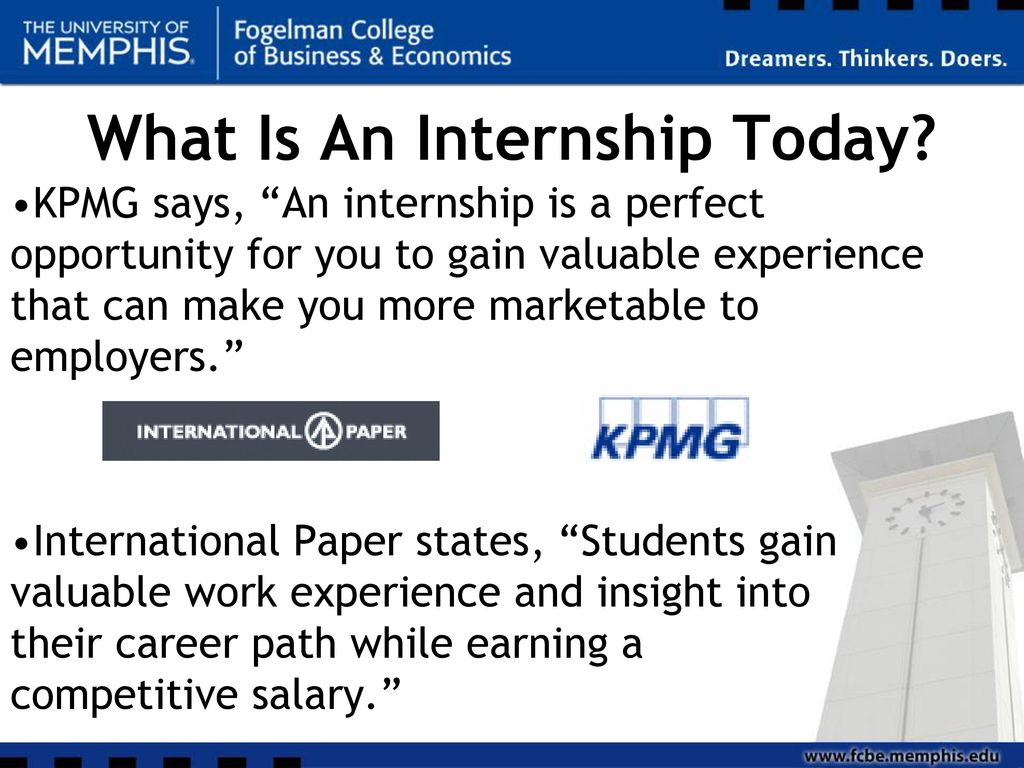 Accounting Academic Internships - ppt download