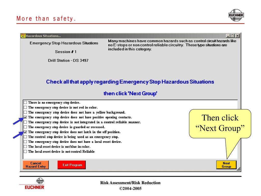 Risk Assessment Risk Reduction Software Ppt Download