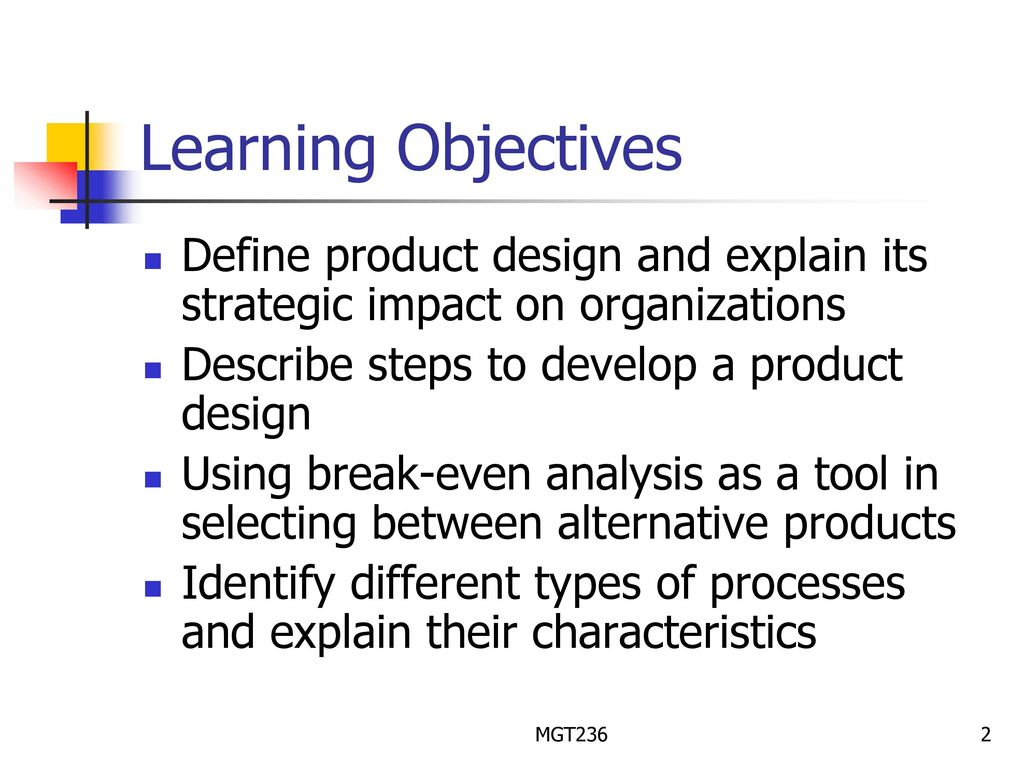 Chapter 3 Product Process Design Ppt Download