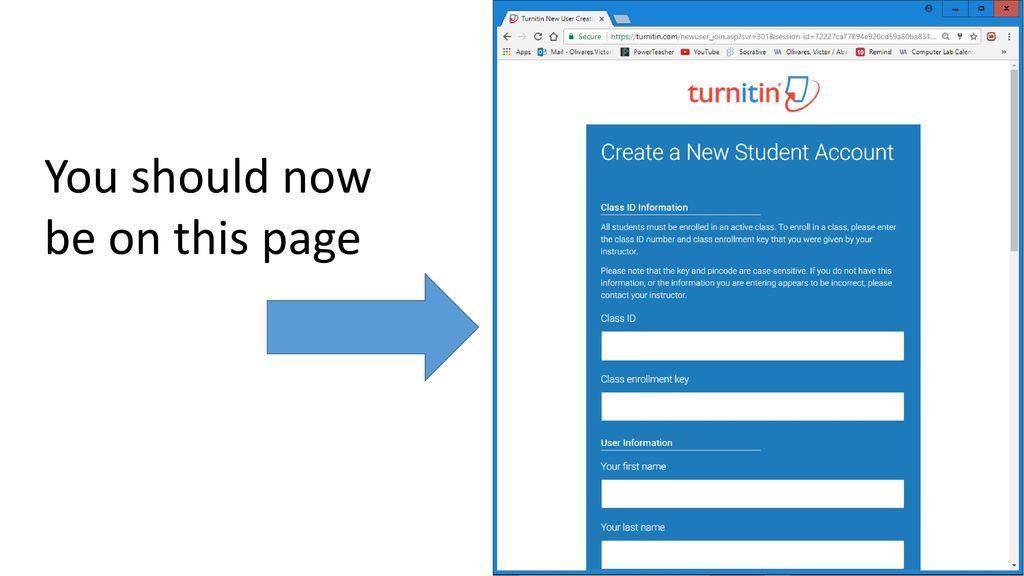 Turnitin com  - ppt download
