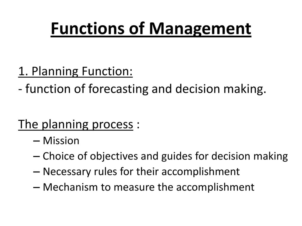 Management Functions Administration - ppt download
