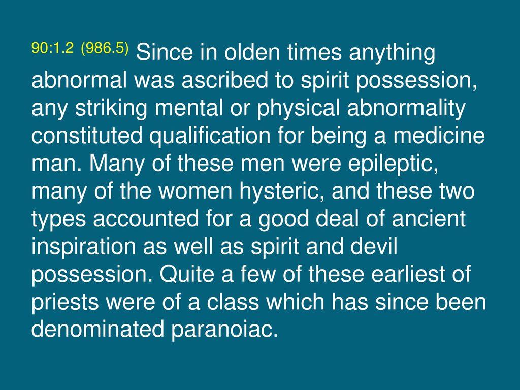 Paper 90 Shamanism — Medicine Men and Priests - ppt download