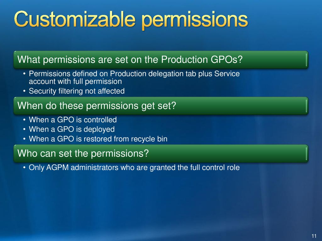 Advanced Group Policy Management - ppt download