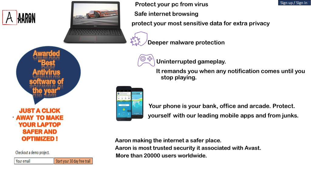 "Awarded ""Best Antivirus software of the year"" - ppt download"