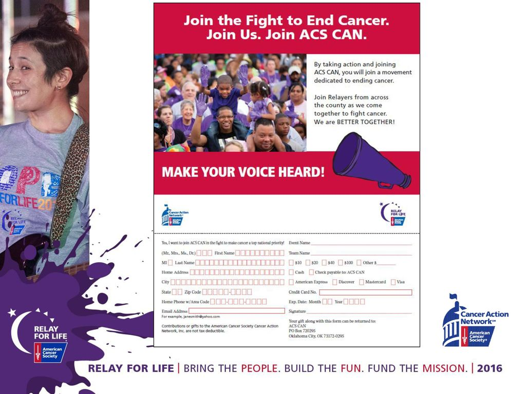 Make history using YOUR story- Fund Cancer Research - ppt