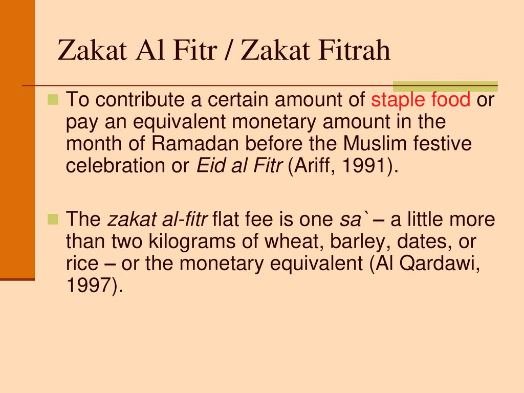 Illustration To Calculate Zakat Ppt Download