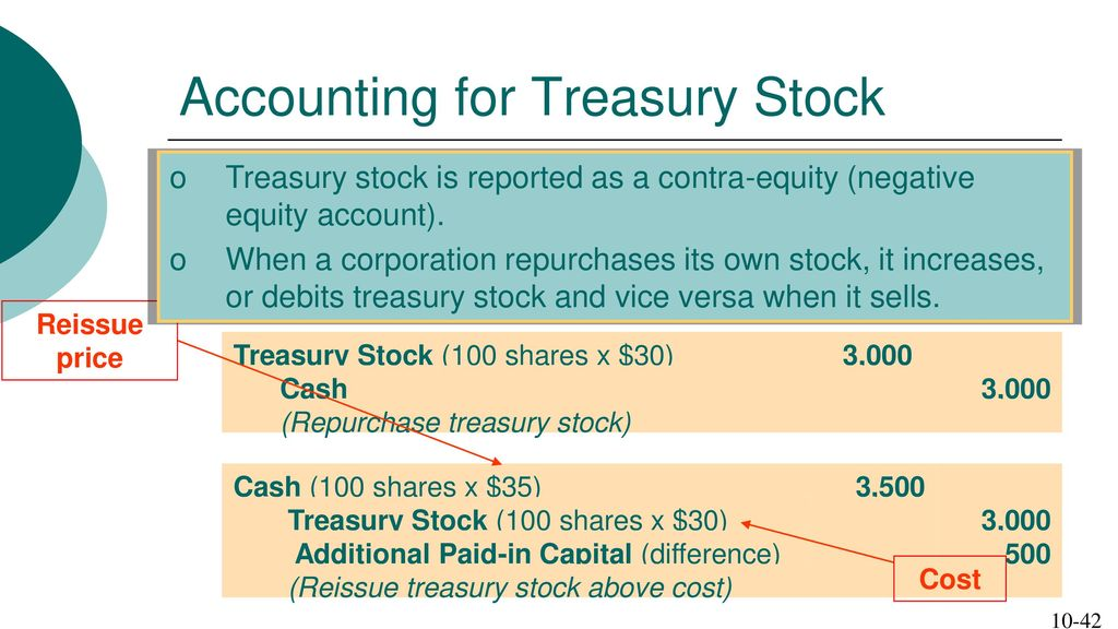 Chapter 10 Stockholders' Equity This chapter is divided into 3 parts