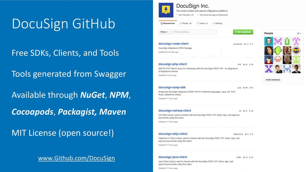 Getting Started with the DocuSign API - ppt download