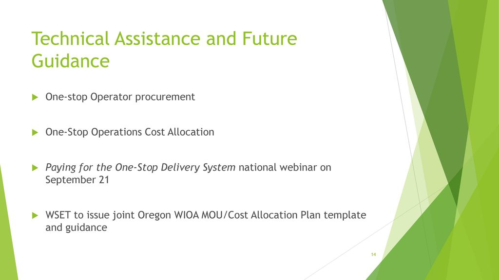 Cost Allocation Webinar