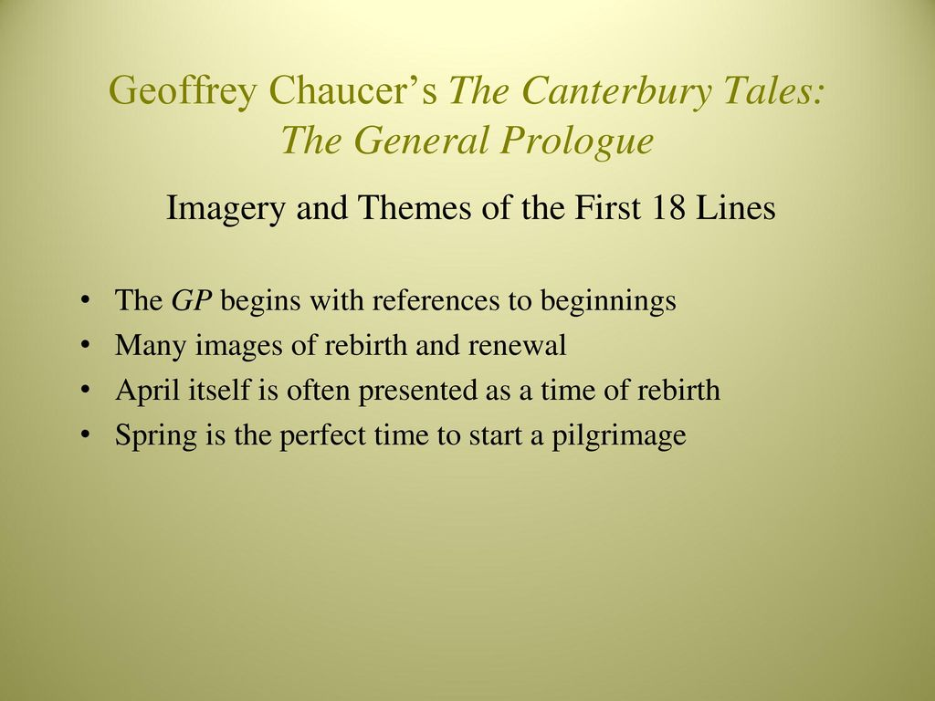 canterbury tales first 18 lines