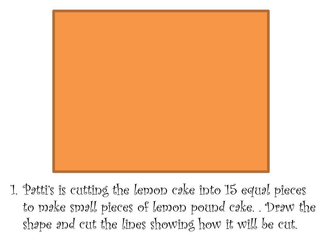 Patti S Lemon Pound Cakes Ppt Download