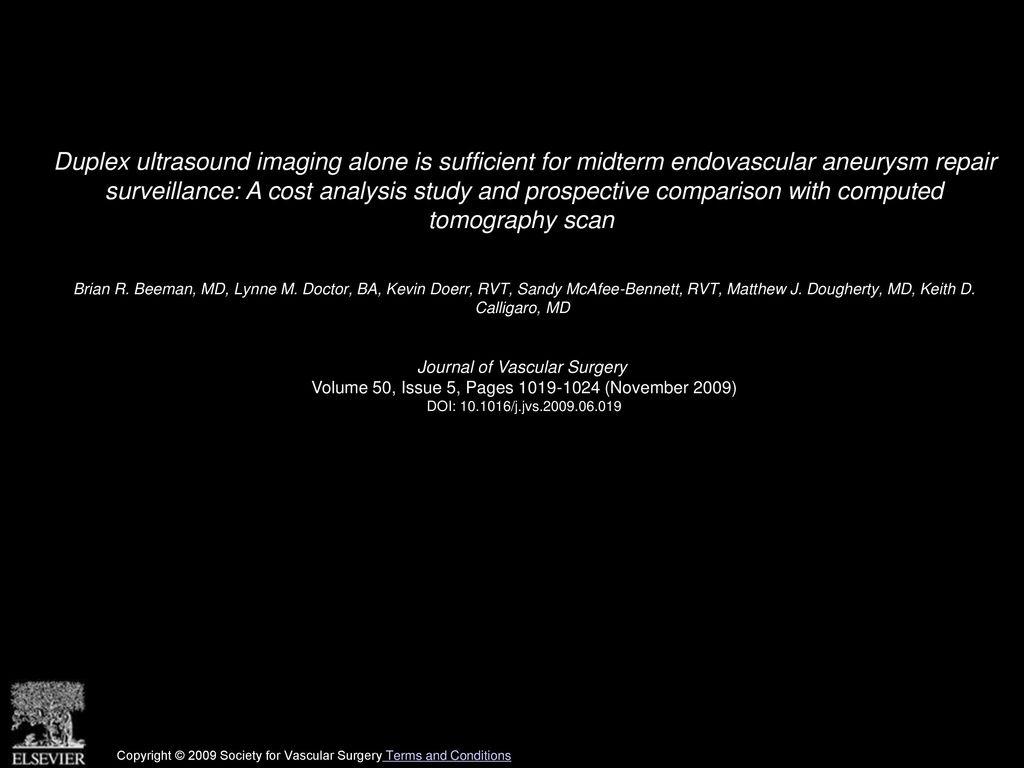 What is a duplex vascular scan? 12