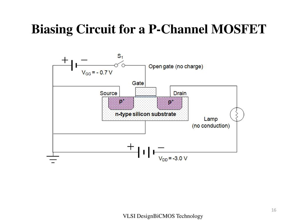 Vlsi Design Bi Cmos Unit Ii Basic Electrical Properties Ppt Download P Channel Mosfet Circuit Diagram Biasing For A