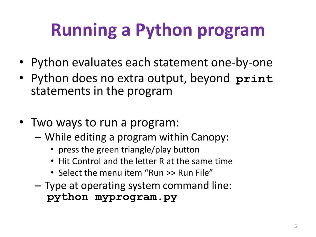 The Python interpreter - ppt download