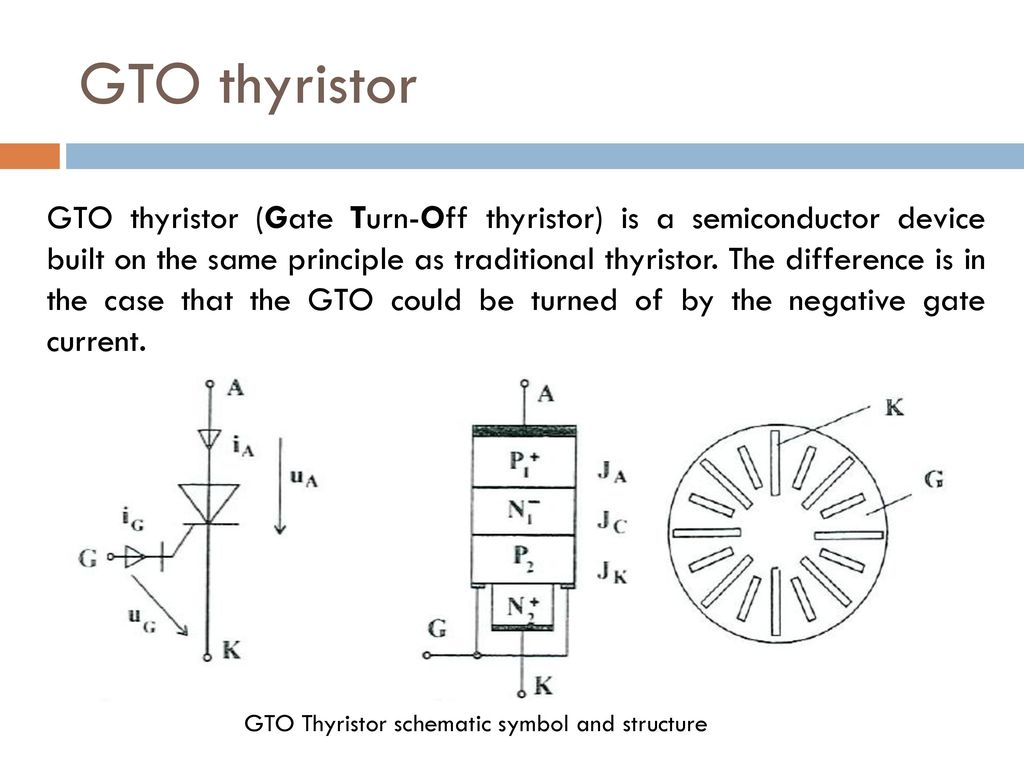 Power Semiconductor Systems I Ppt Download Mos Controlled Thyristor Mct Electronic Circuits And Diagram Gto 13