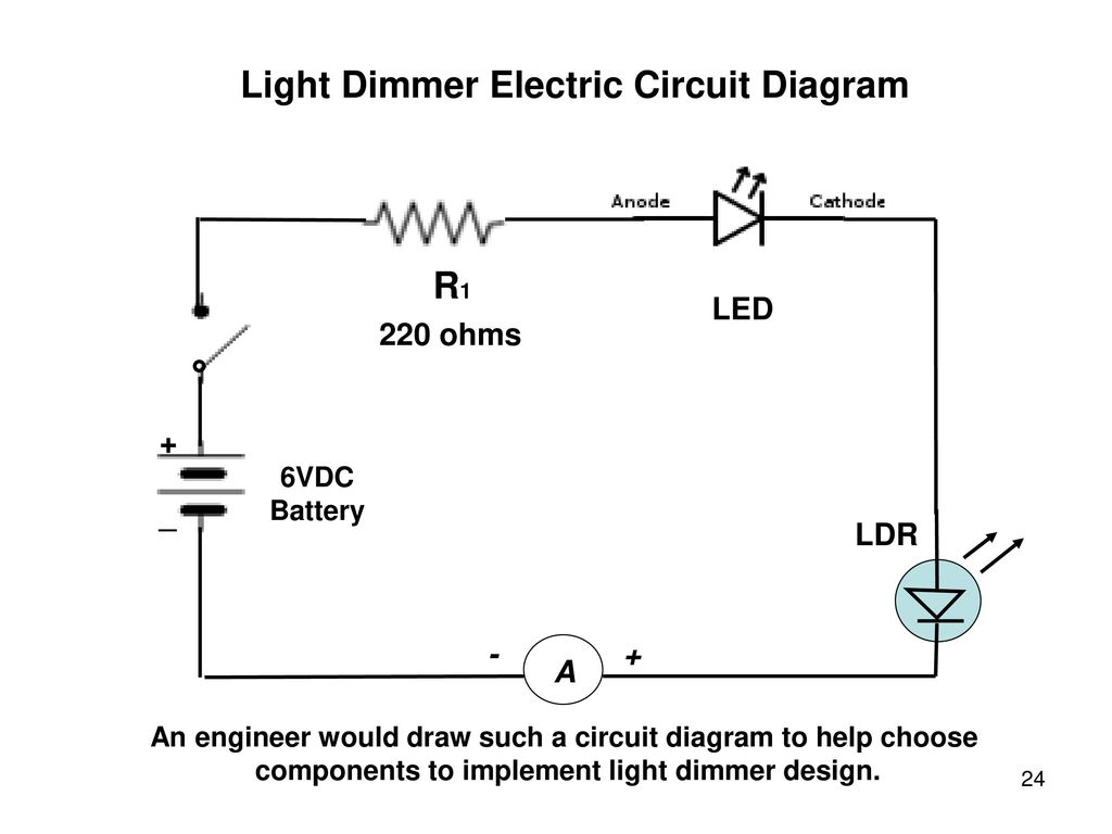Awim Series Semiconductors Ppt Download Ldr Circuit Diagram Light Dimmer Electric