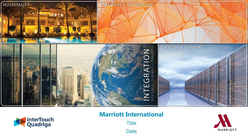 Marriott International - ppt download