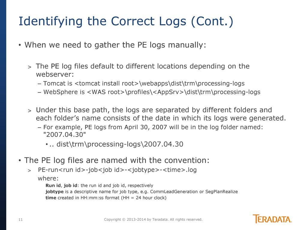 Troubleshooting with cim/trm logs - ppt download