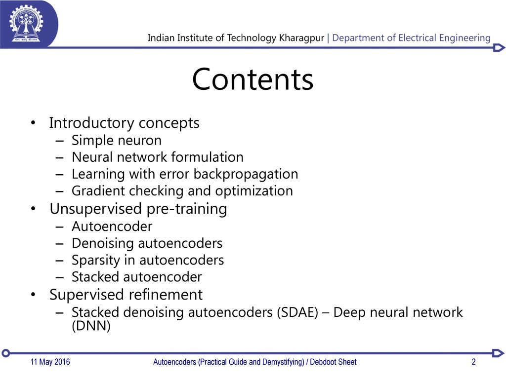A practical guide to learning Autoencoders - ppt download