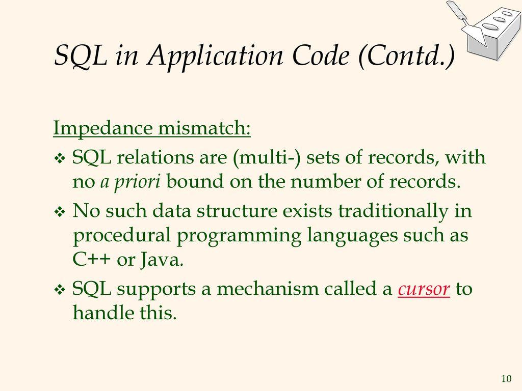 Database Application Development - ppt download