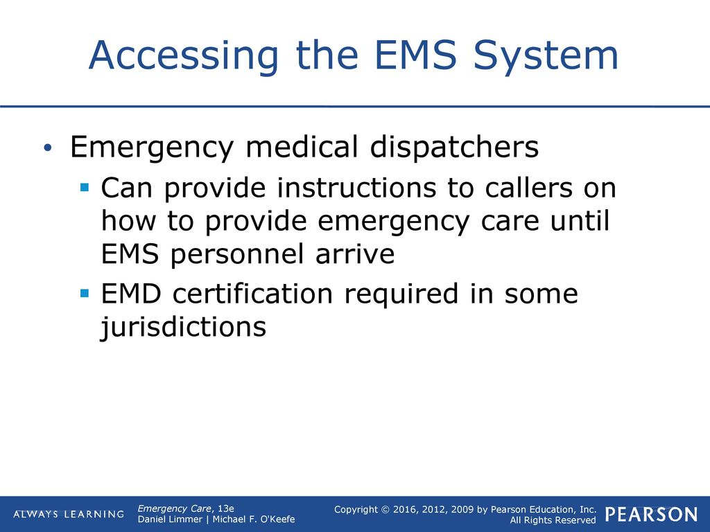1 Introduction To Emergency Medical Care Ppt Download