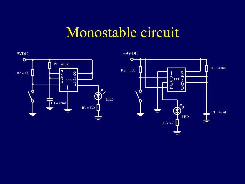 Integrated Circuits Ppt Download 555 Timer Monostable Circuit Electrical Engineering Electronics 14