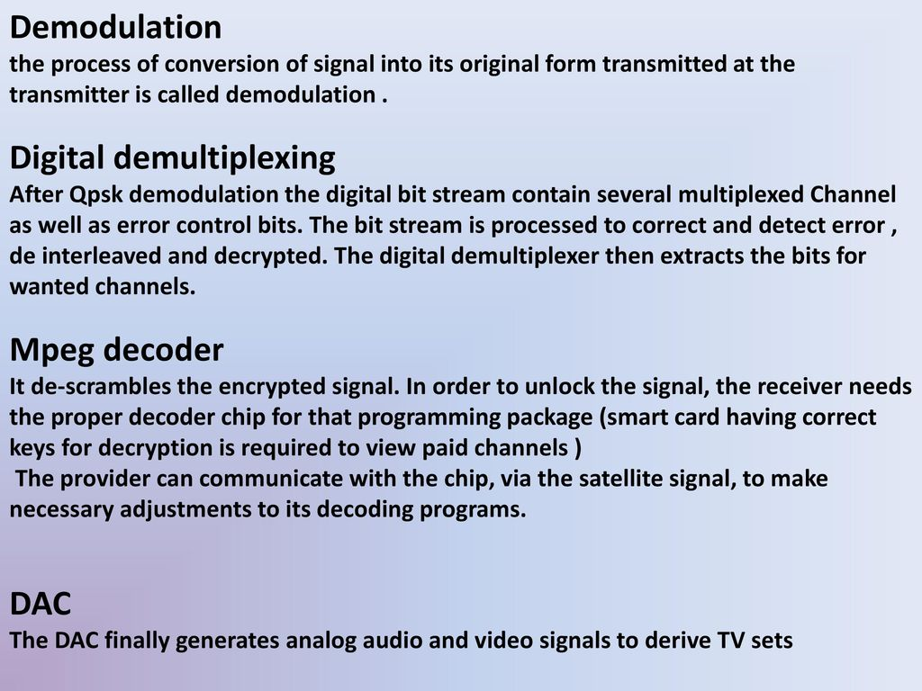 Power Point presentation on DTH - ppt download